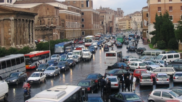 Heaven or hell? How to drive in Rome.